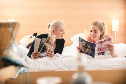 Romantikurlaub liegt voll im Trend - auf dem Bild im Esplanade Resort & Spa am Scharmützelsee