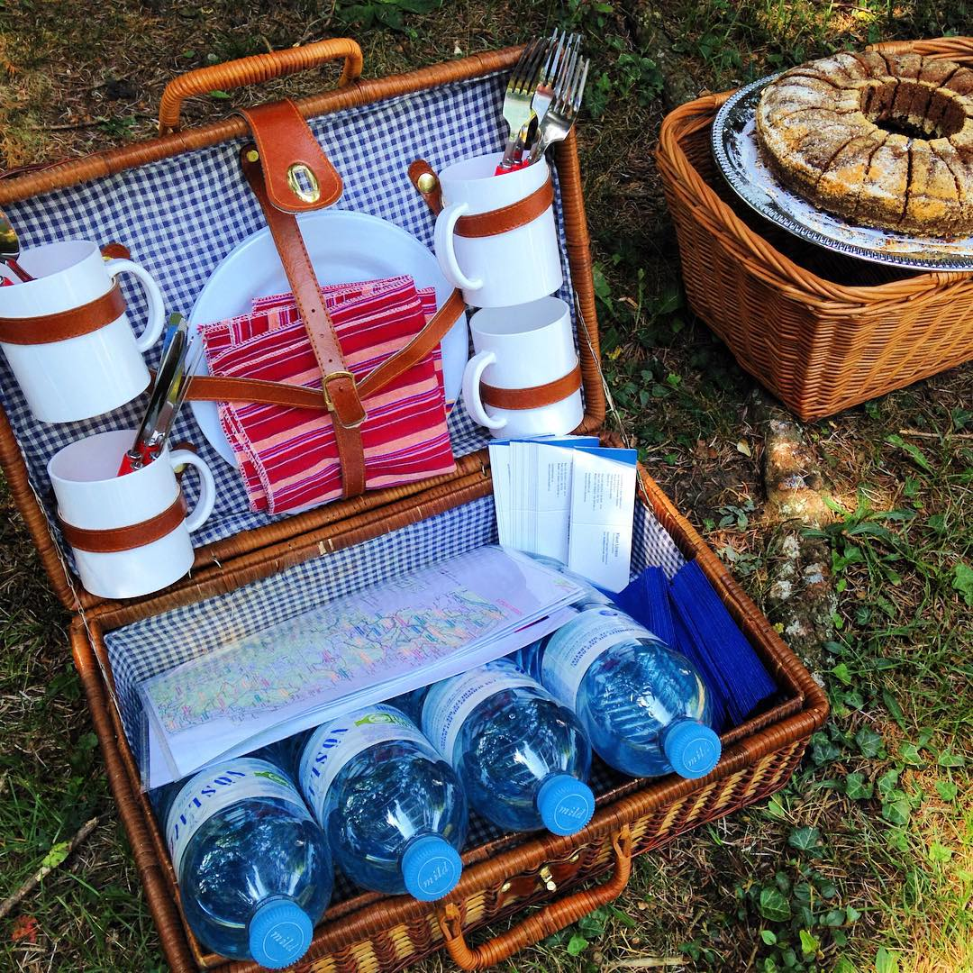 Picknickkorb packen…