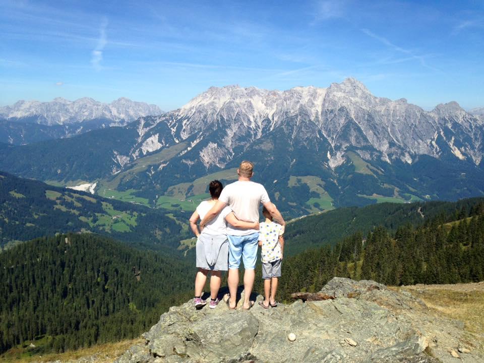 Familienurlaub immer wieder anders…