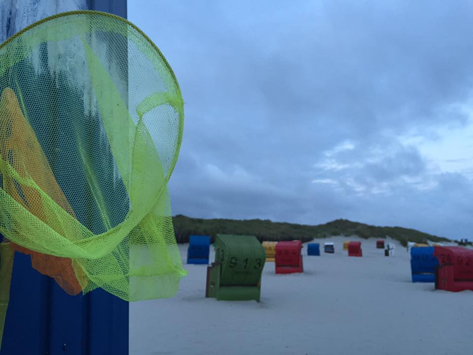 Früh morgens am Strand auf Juist