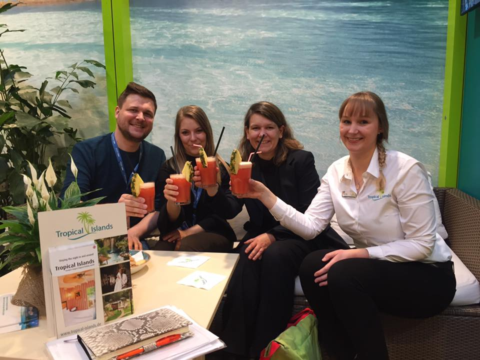 Saftcocktail beim Tropical Island