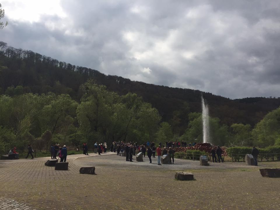Kaltwassergeysir Andernach