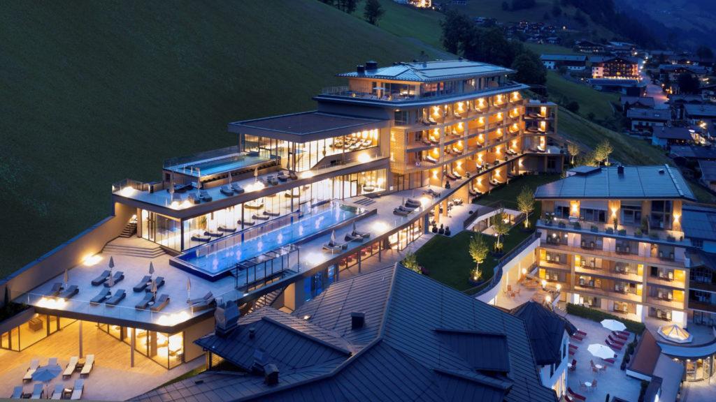 DAS EDELWEISS Salzburg Mountain Resort – Location SpaCamp 2020. Foto: Das Edelweiss