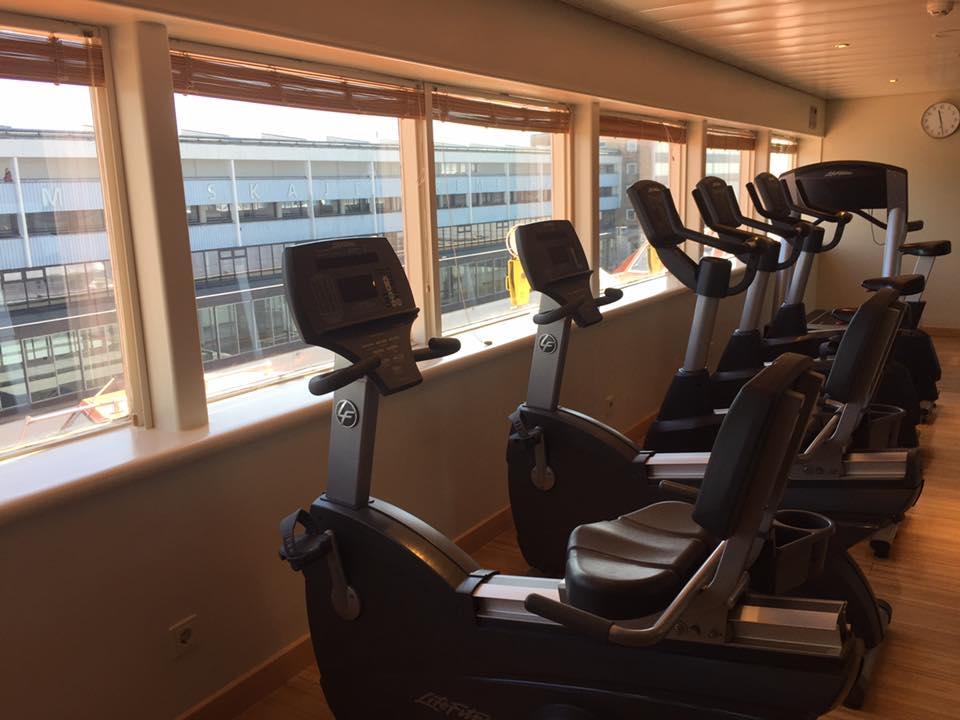 Fitnessstudio mit Aussicht