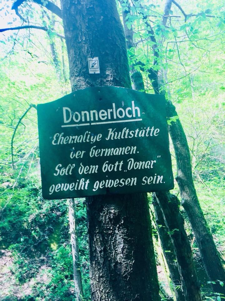 Wandern Donnerloch Brodenbach