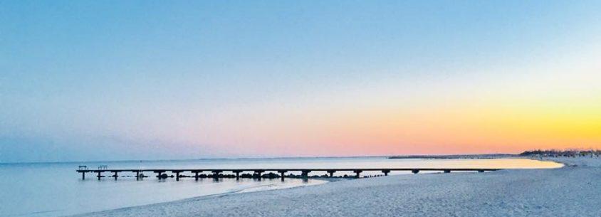 Fehmarn Strand Sonnenuntergang
