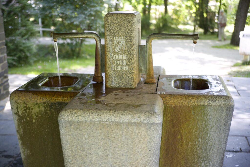 Heilwasser Quelle Bad Steben