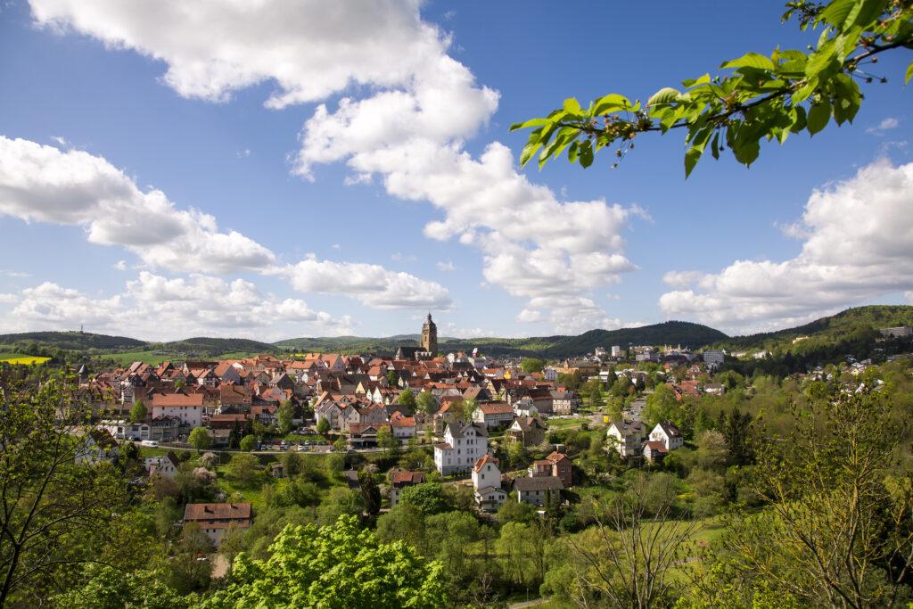 Bad Wildungen, Hesse, Germany, Europe