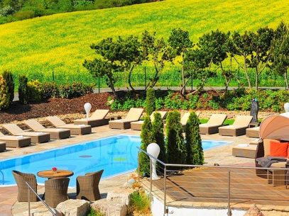 Aussenpool Freund Hotel & Spa Resort