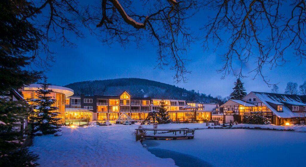 Romantik- und Wellnesshotel Deimann im Winterwonderlook