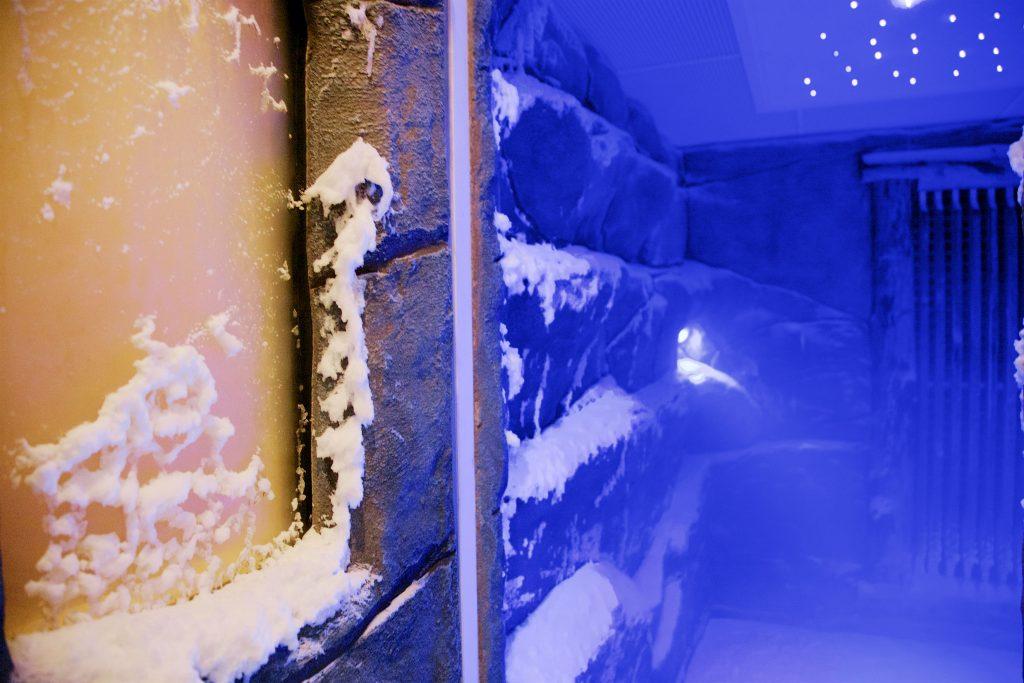 Schneesauna Panorama Spa Zeulenroda