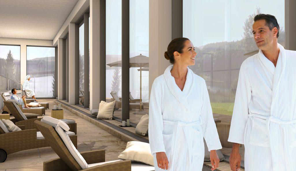 Bio Seehotel Zeulenroda Sauna & Wellnessbereich Panorama Spa