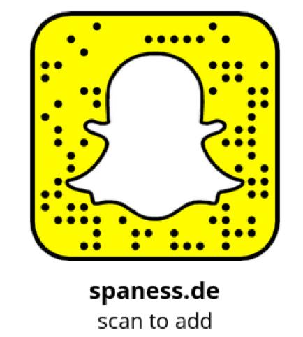 Spaness.de auf Snapchat