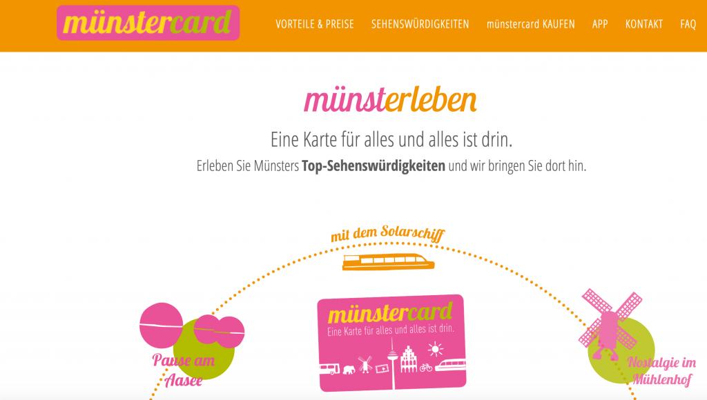 Münster Tourismus - Jetzt NEU Münster Card