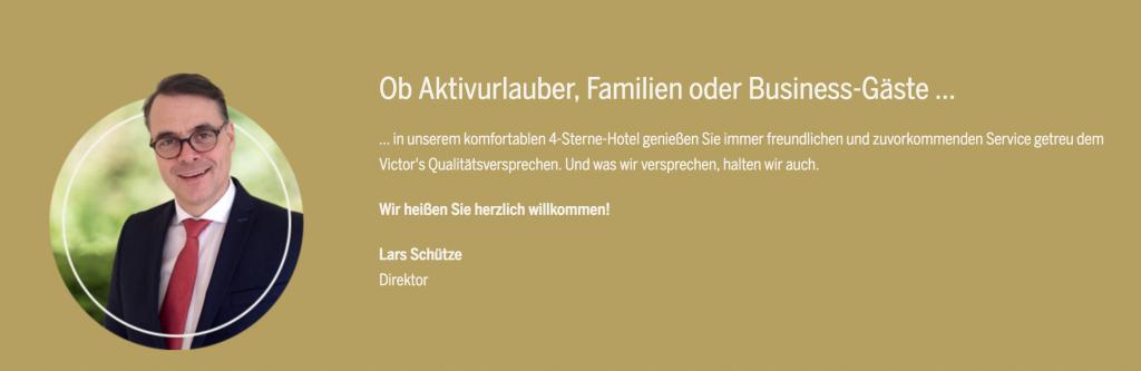 Victor's Residenz Hotel Teistungenburg Lars Schütze