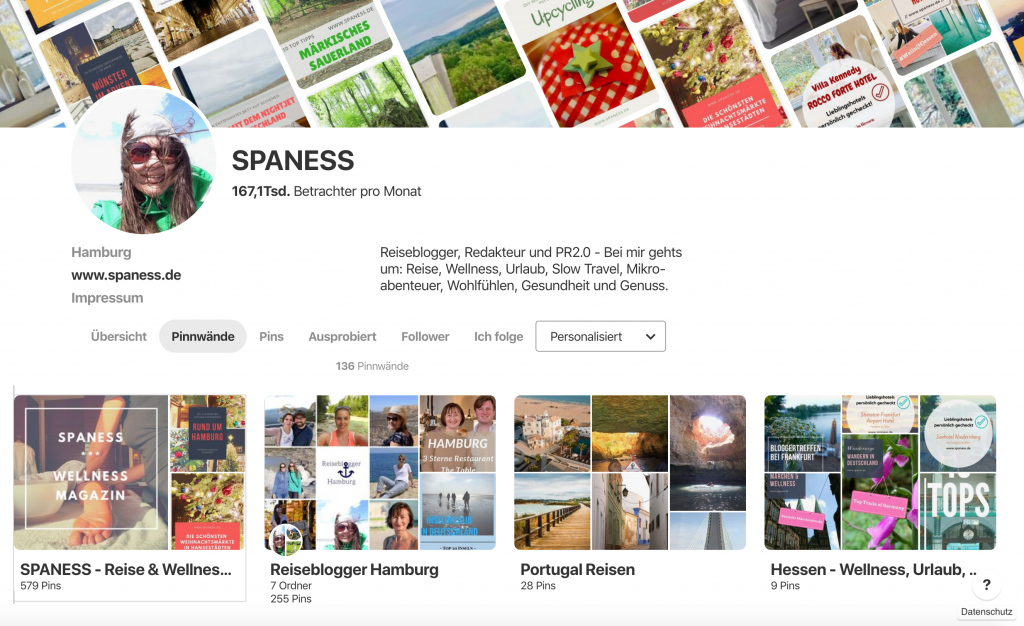 SPANESS: Pinterest Urlaub und Reise Boards
