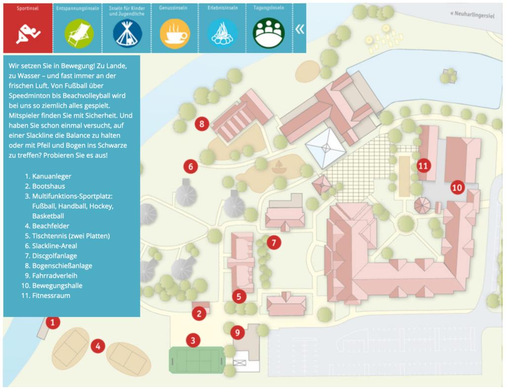DJH Resort Lageplan