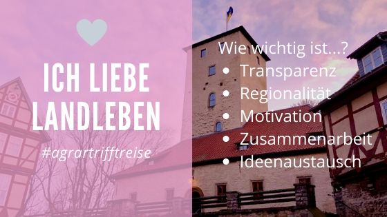 Landleben Blogger-Treffen/Camp