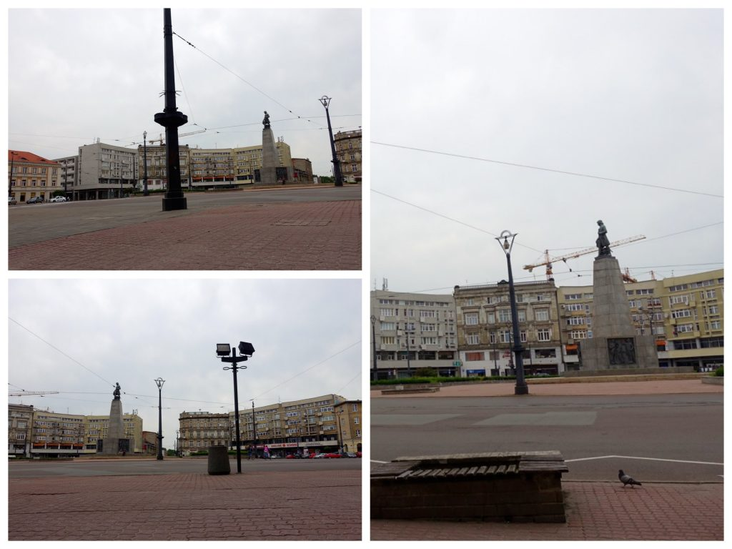 Lodz Reiseguide - Freiheitsplatz Lodz