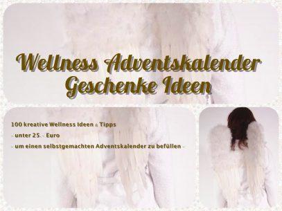Wellness Adventskalender Geschenke basteln