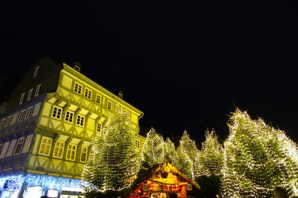 Goslar Weihnachtswald Schuhhof