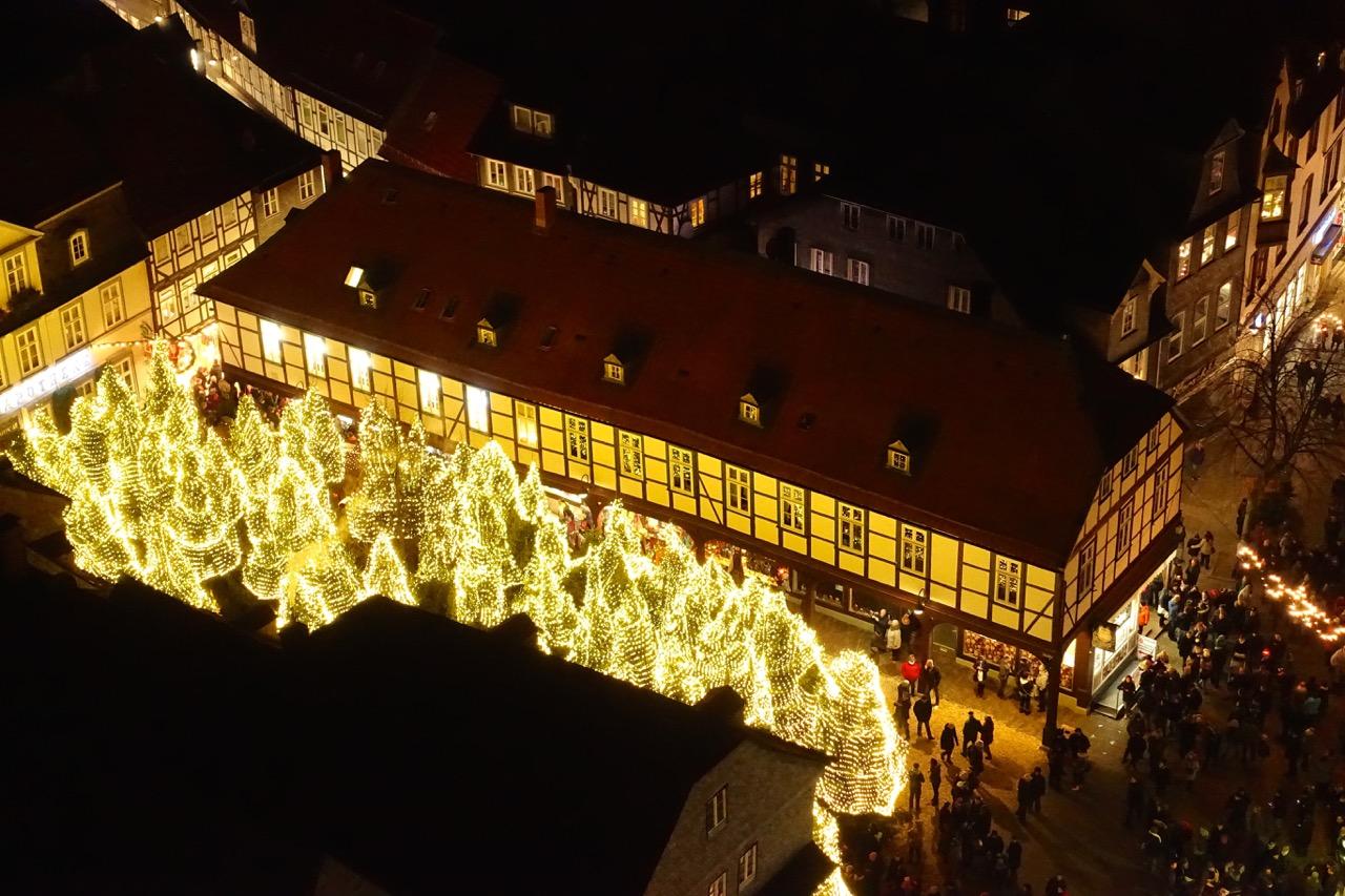 Blick von der Himmelsleiter Goslar (Marienkirche)