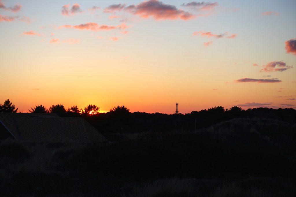 Wangerooge Wellness - Sonnenuntergang in den Duenen
