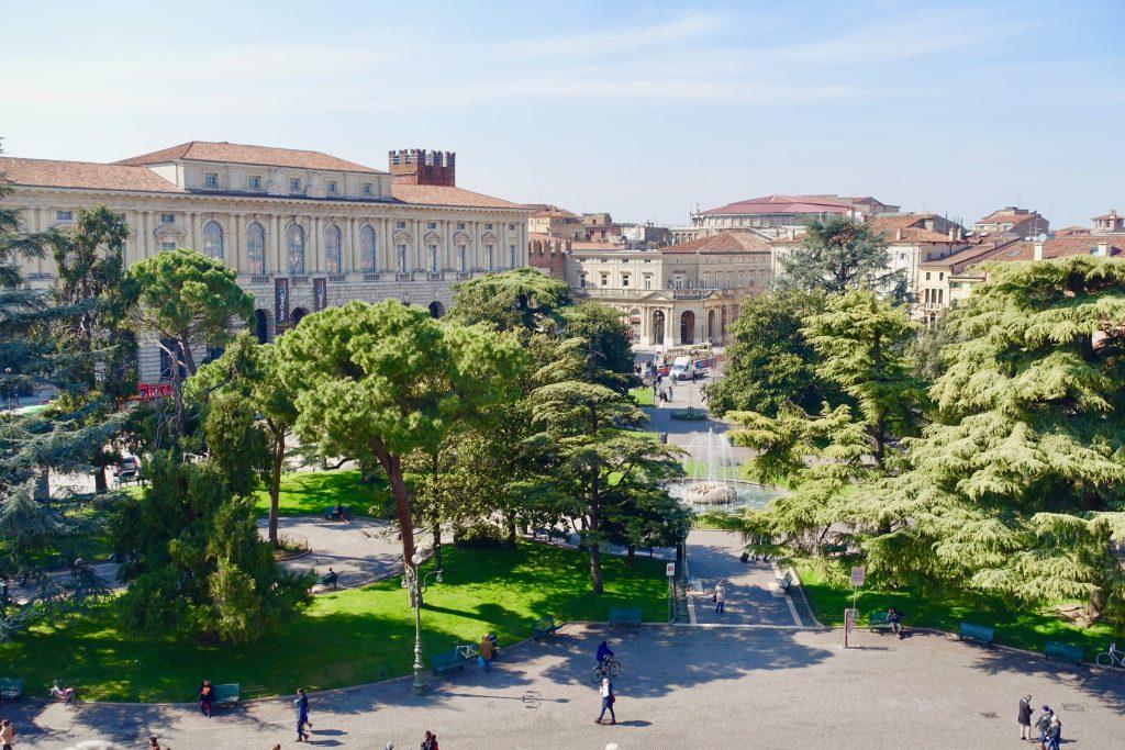 Verona Trip: Blick von der Arena Verona