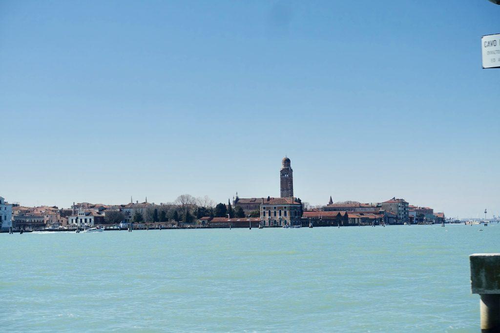 Venedig Reiseinfos - Blick von Linie 12 auf Venedig