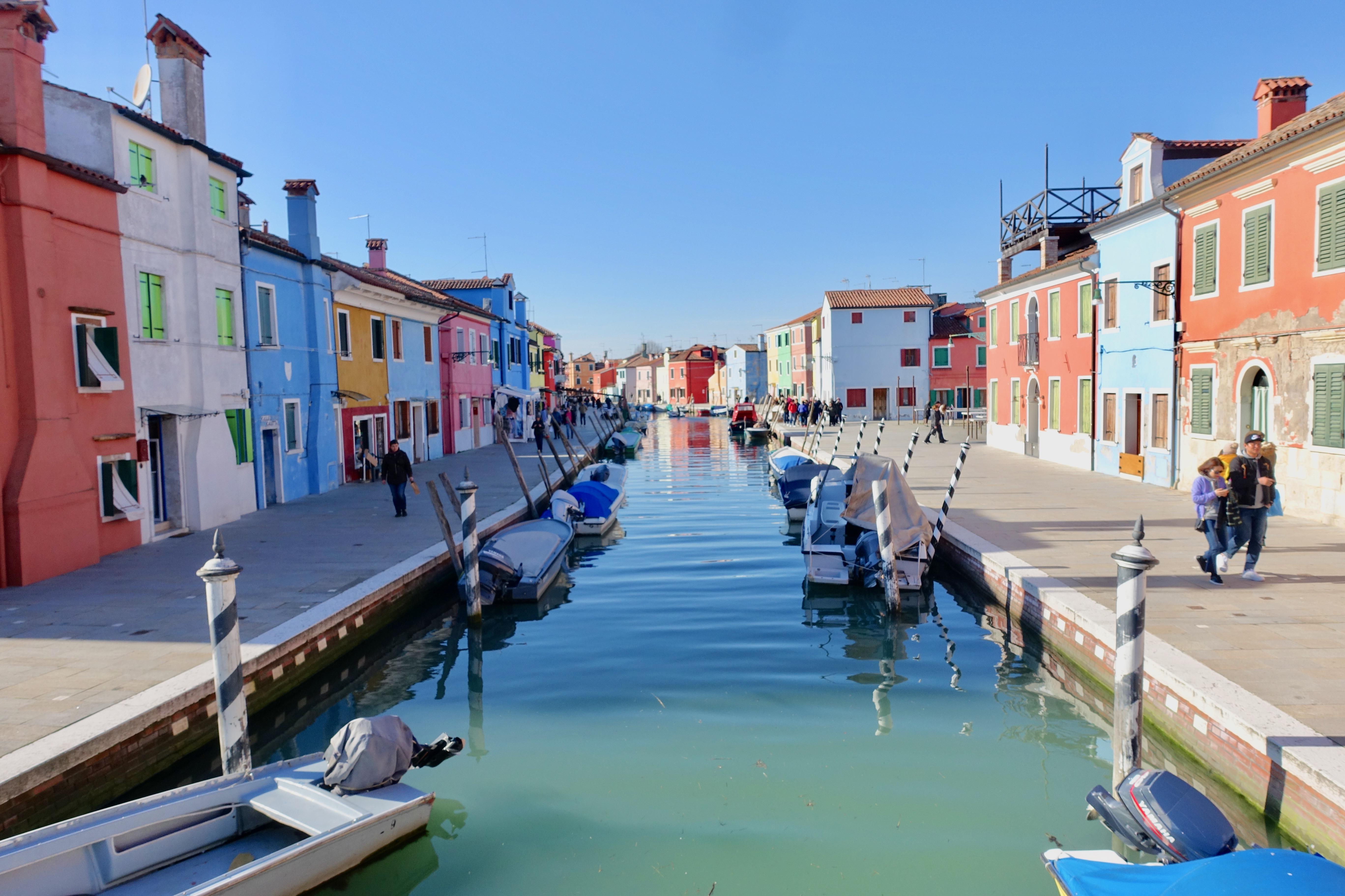 Venedig – kunterbuntes Burano