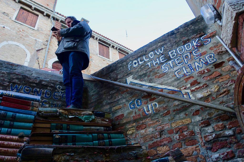 Buchladen Venedig Libreria Acqua Alta