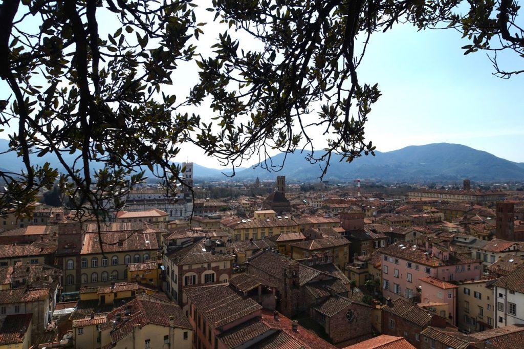 Lucca Reisebericht: Aussicht Torre Guigini