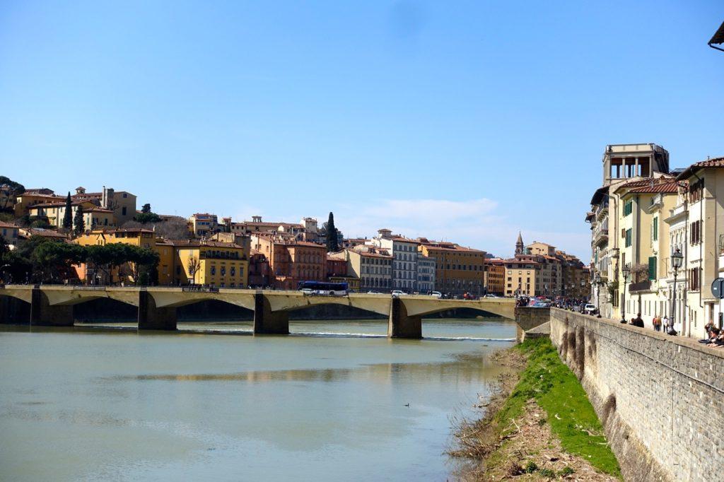 Florenz Stadt am Arno - Ponte Vecchio