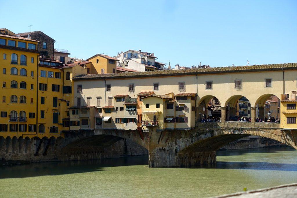 Florenz Trip: Blick auf die Ponte Vecchio