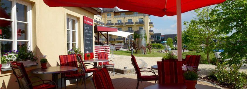 Sonnige Terrasse Resort Mark Brandenburg
