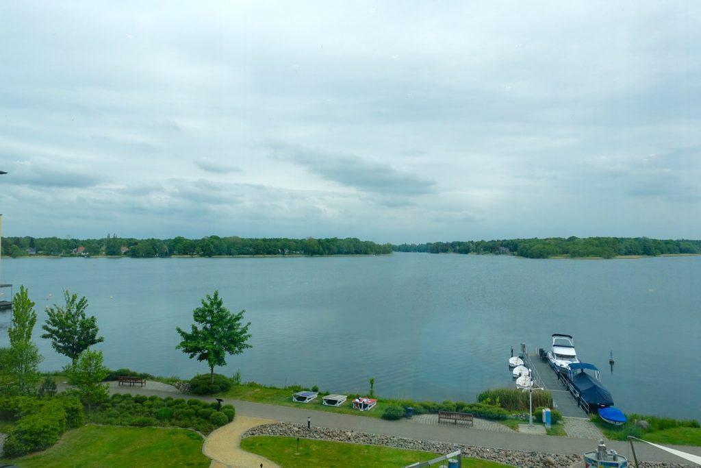 Blick über den Ruppiner See