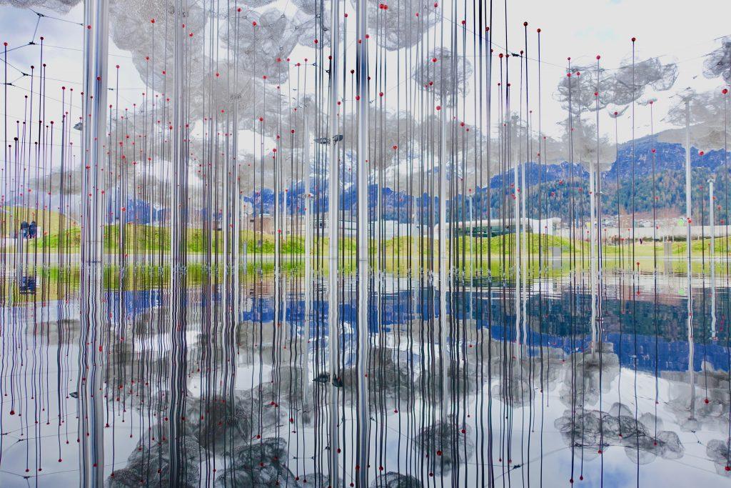 Swarovski Kristallwelten Kristall Wolken