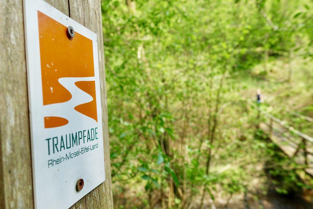 Donnerloch Brodenbach - Wanderwege kreuzen sich