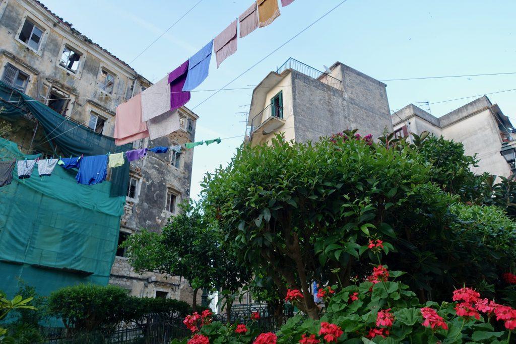 Korfu Bilder Altstadt