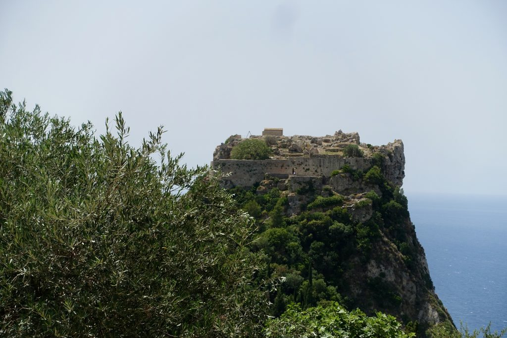 Ausflugstipp Korfu Angelokastro