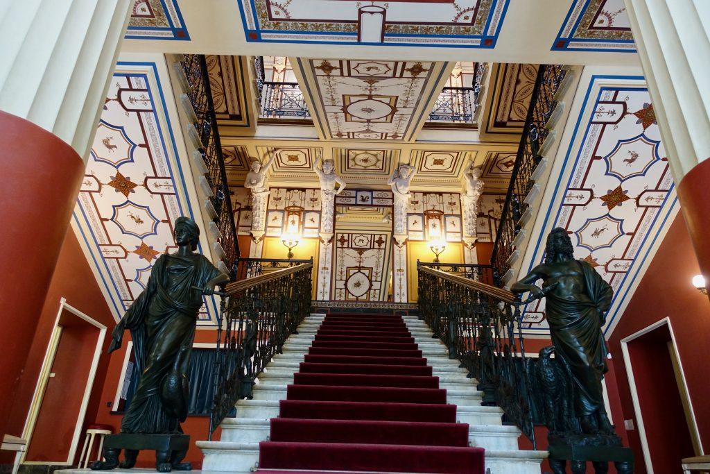 Besuch in der Sisi Villa Korfu