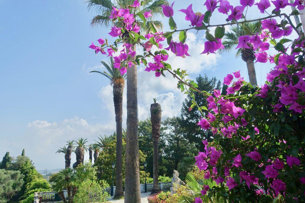 Sisi Villa Korfu - im Garten des Achilleion