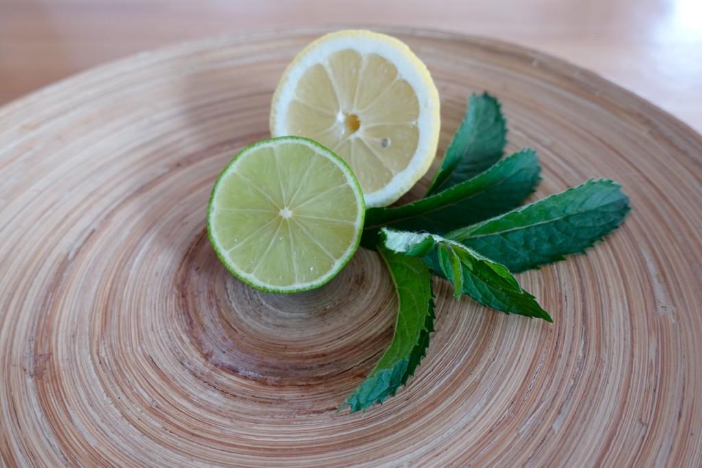 Zutaten für geschmackvolles Wasser