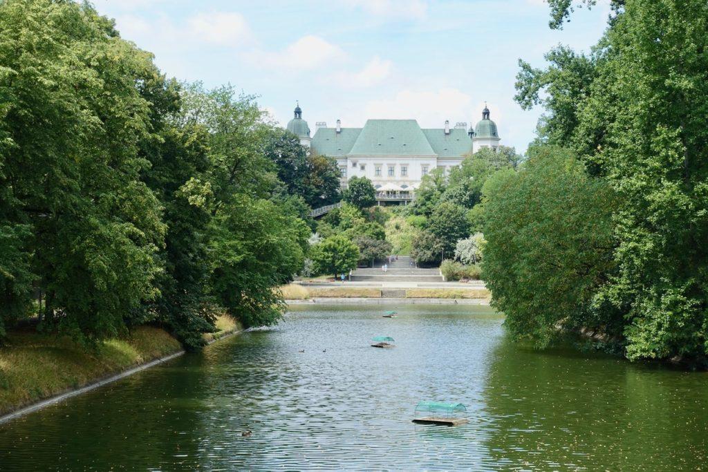 Warschau Lazienki Park