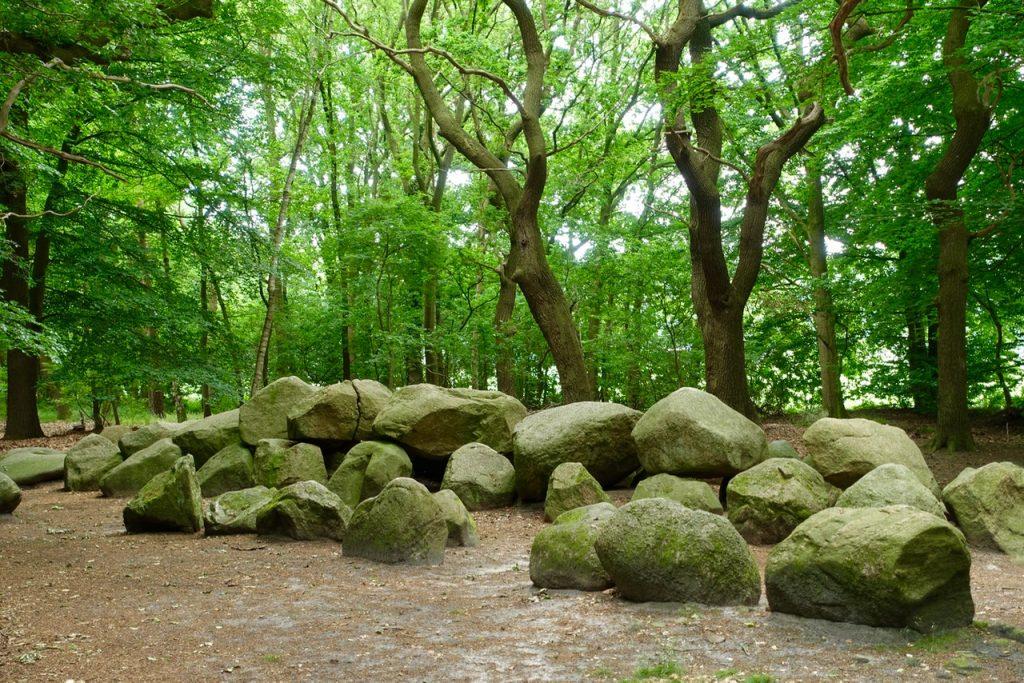 Steingrab im Wald - an der Straße der Megalithkultur