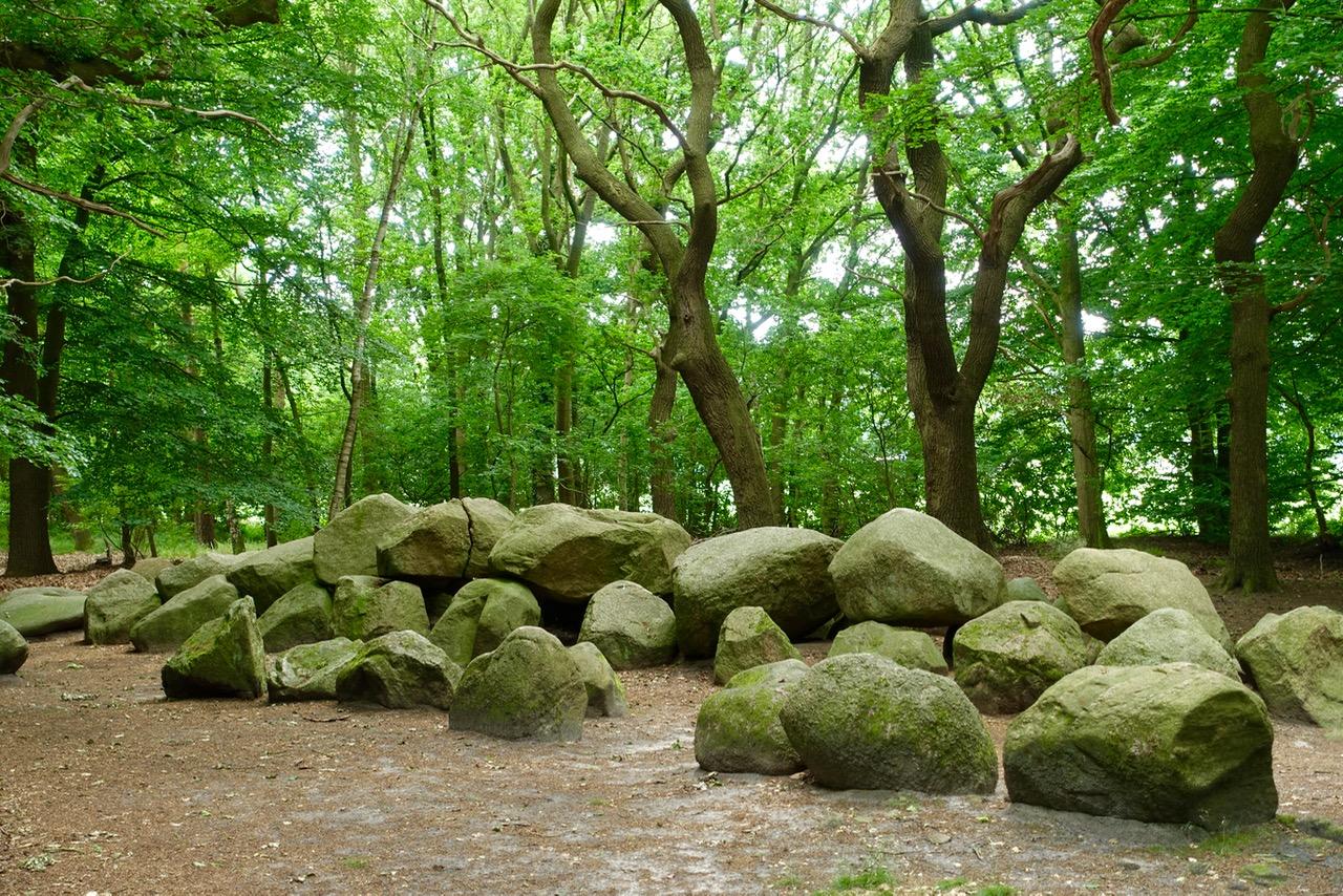 Steingrab im Wald – an der Straße der Megalithkultur