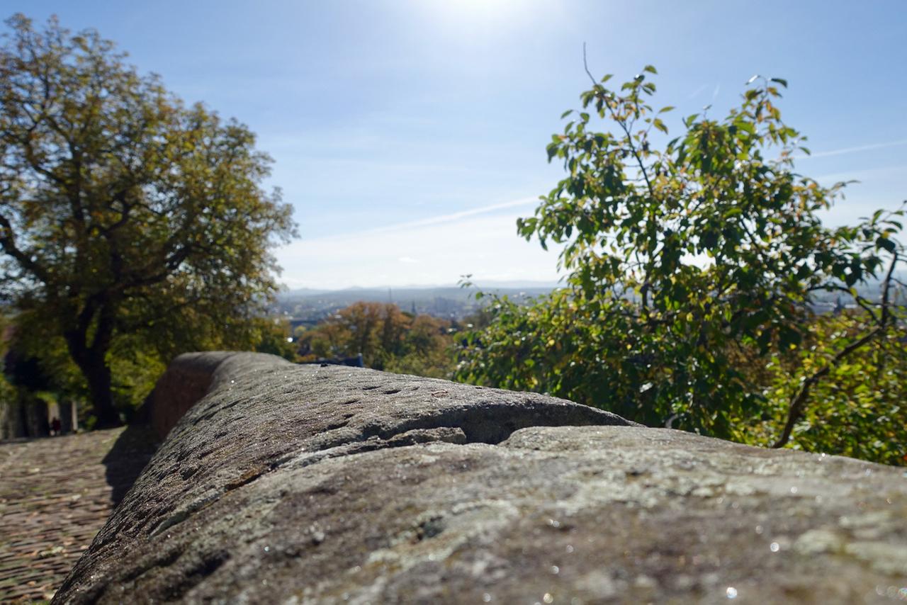 Wochenende in Fulda – Blick vom Kloster Frauenberg