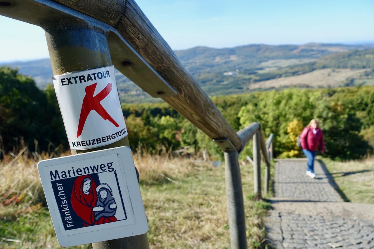 Wandern und Pilgern zum Kloster Kreuzberg