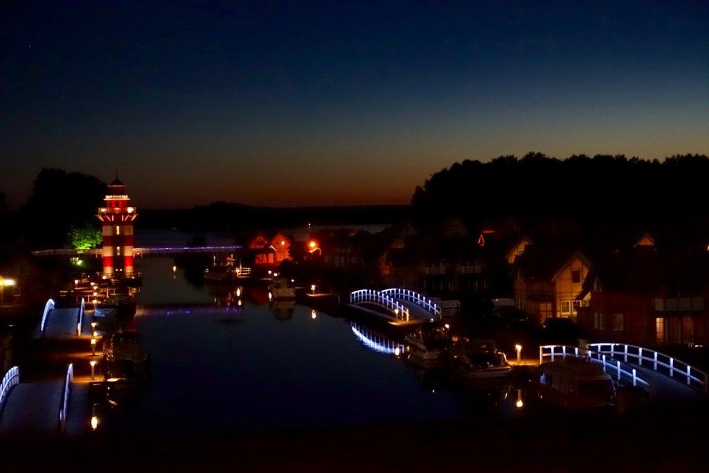 Maritim Hafenhotel Rheinsberg Blick vom Zimmer