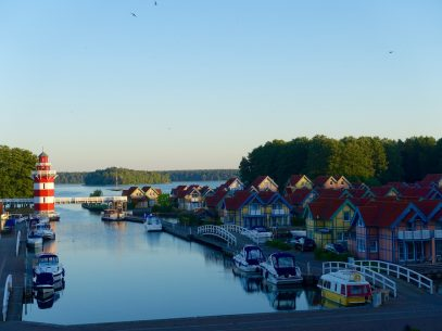 Maritim Hafenhotel Rheinsberg um 5 Uhr morgens